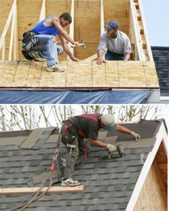 change your roofing