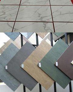 Granite, Ceramic marble tiles