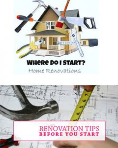 start the renovation